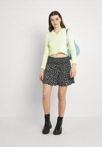 EDITED - SAGE SKIRT - Mini skirt - dark daisy - 1