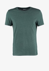 Pier One - Basic T-shirt - green melange - 4