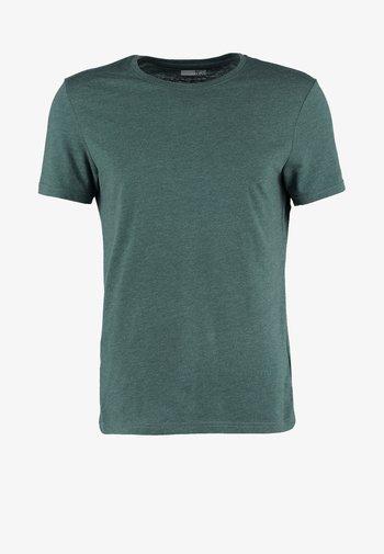T-paita - green melange