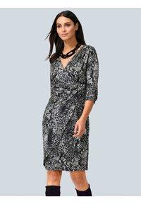Alba Moda - Jersey dress - grau,weiß - 0
