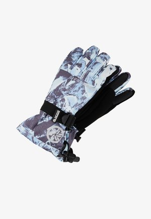ULTIMATE SNOW RESCUE GLOVE - Fingerhandschuh - frosted blue ice