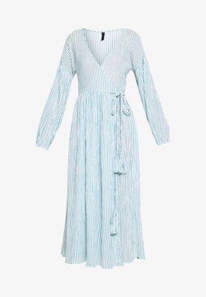 YASMALTA MIDI DRESS - Vestido informal - sea foam/white