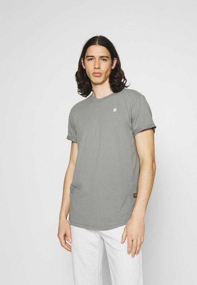 LASH  - Basic T-shirt - charcoal