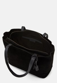 Zign - LEATHER - Tote bag - black - 2