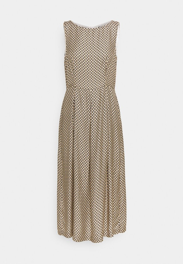 ONY - Korte jurk - beige print