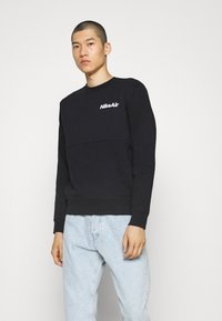 Nike Sportswear - AIR CREW - Sweatshirt - black/white - 0