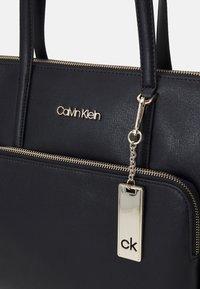 Calvin Klein - SHOPPER - Shopping bag - black - 3