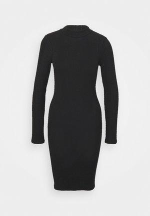 PCSADINE SLIM DRESS - Denní šaty - black