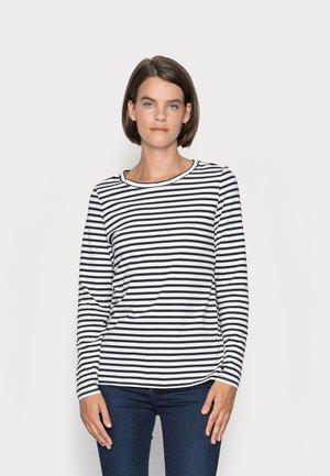Long sleeved top - navy stripe