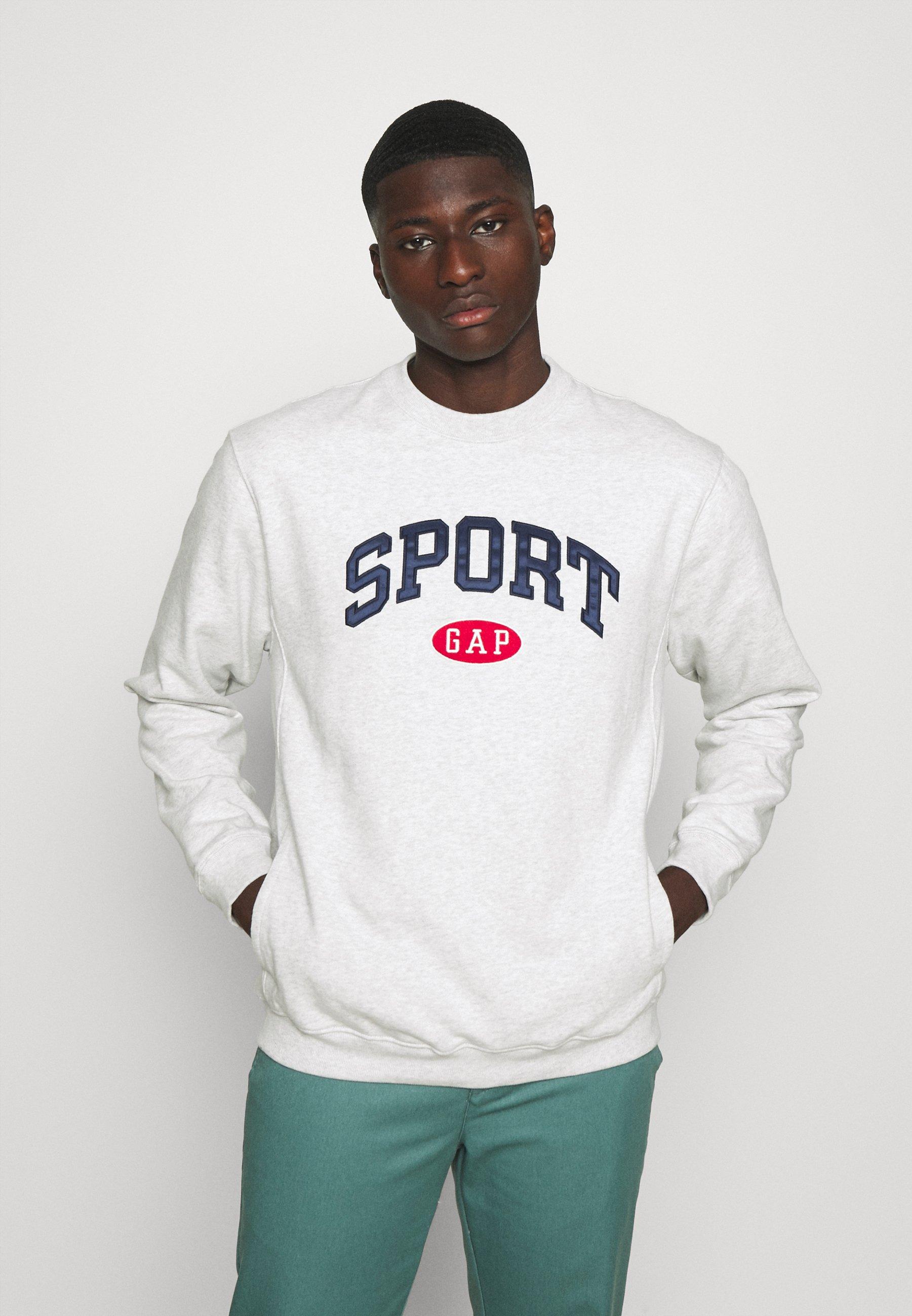 Homme SPORT LOGO CREW - Sweatshirt