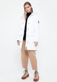 Finn Flare - Winter coat - white - 1
