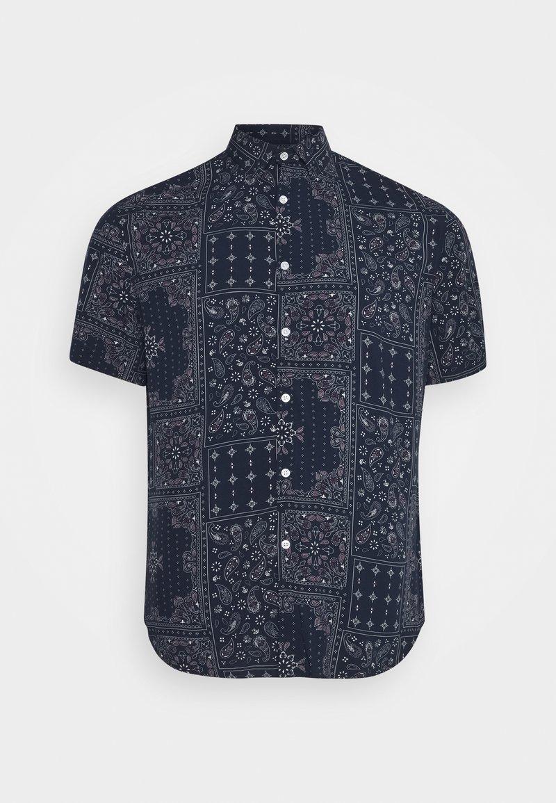 Johnny Bigg - DIAZ PRINT SHIRT - Shirt - navy