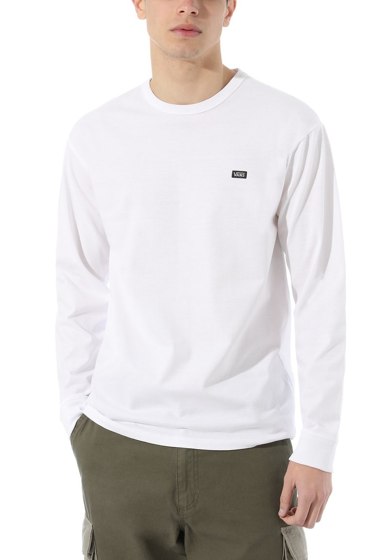 Vans - MN OFF THE WALL CLASSIC LS - Long sleeved top - white