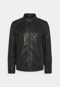 Strellson - DRIVER - Leather jacket - black - 5