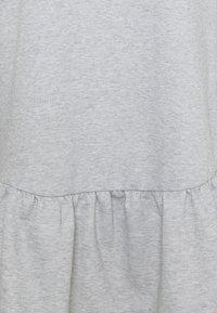 New Look Curves - DROP HEM DRESS - Day dress - grey niu - 2