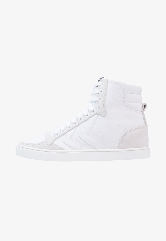 SLIMMER STADIL TONAL  - High-top trainers - white