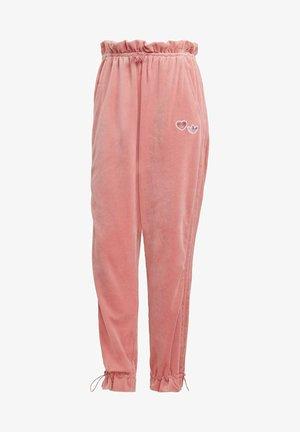 TRACK PANT - Pantalones deportivos - hazy rose