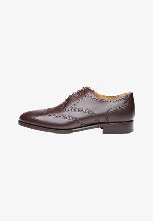 No. 561 - Smart lace-ups - dark brown