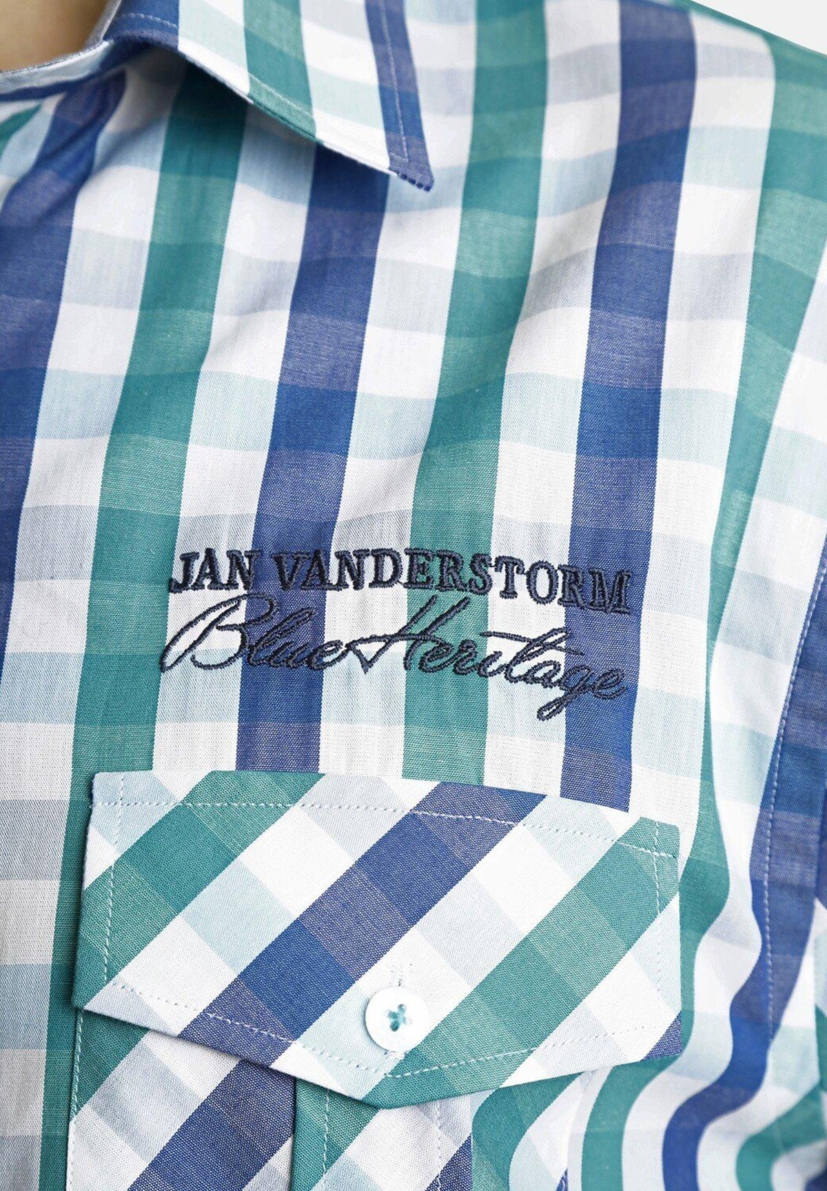Jan Vanderstorm Chemise - blue