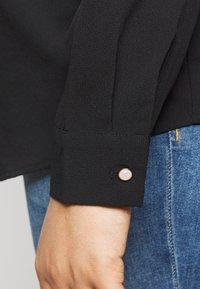 Vero Moda Curve - VMLOLENA CURVE - Košile - black - 3