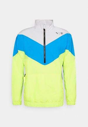 TRAIN FIRST MILE XTREME JACKET - Training jacket - grey vilet /energy blue/fizy yellow