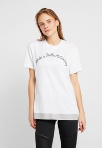 adidas by Stella McCartney - LOGO TEE - Print T-shirt - white - 0