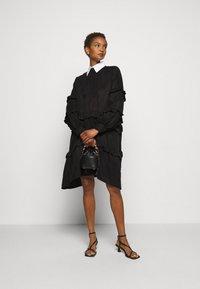 Bruuns Bazaar - SIANNA MAKKA DRESS - Cocktail dress / Party dress - black - 1