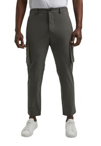 Esprit Collection - Cargo trousers - dark khaki - 0