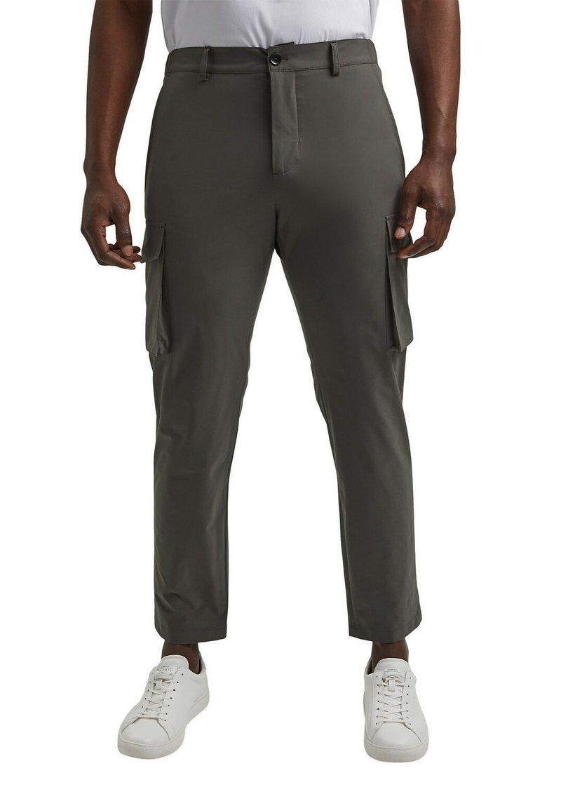 Esprit Collection - Cargo trousers - dark khaki