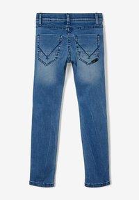 Name it - SLIM FIT - Slim fit jeans - medium blue denim - 1
