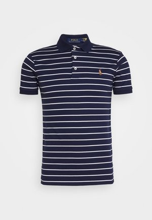 PIMA POLO - Polo shirt - french navy/ white