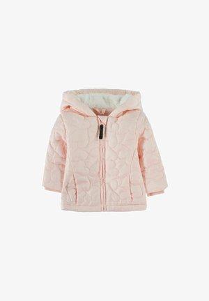 WARM - Gewatteerde jas - pastel pink