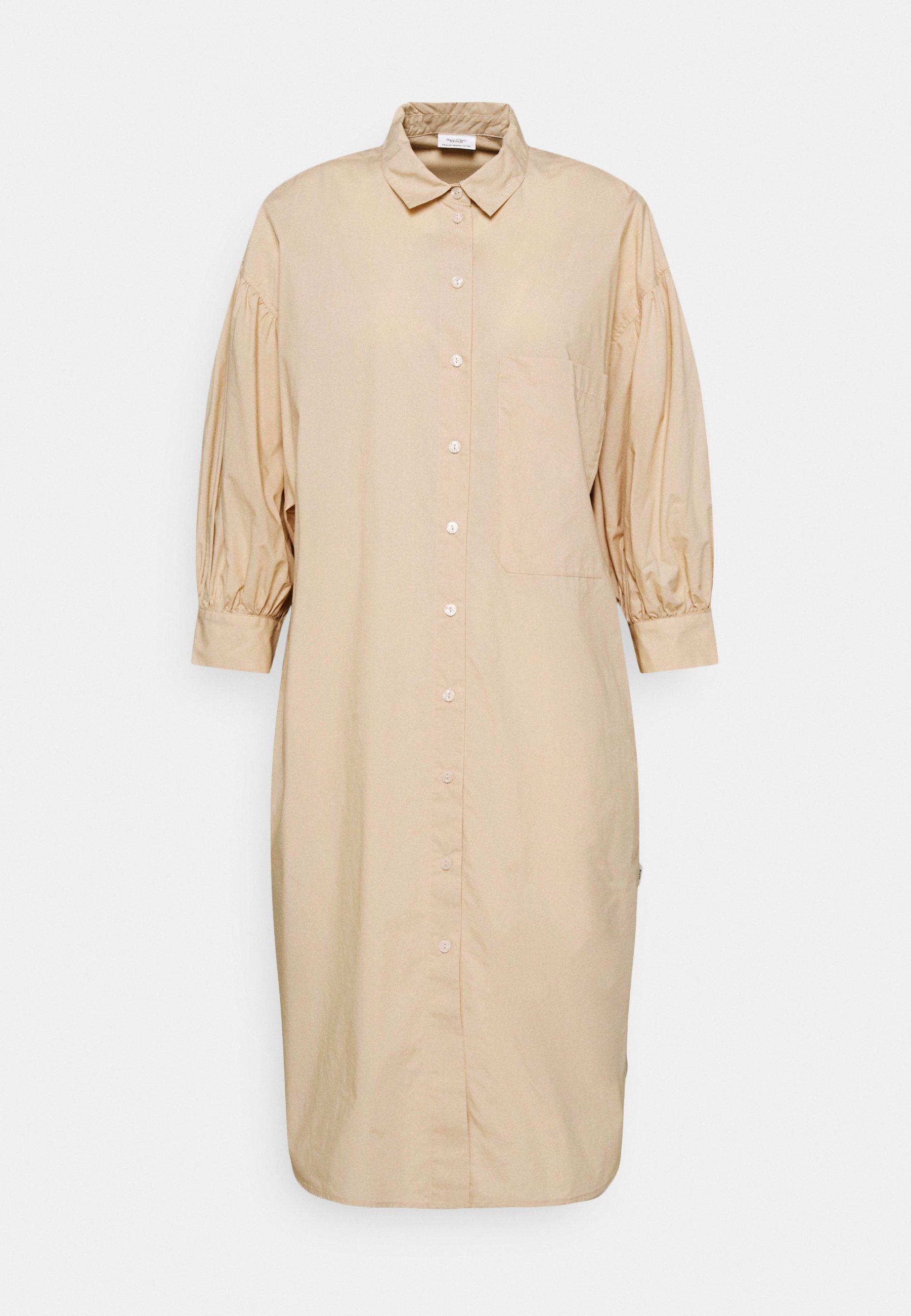 Women WOVEN DRESSES BOHO STYLE LONGSHIRT - Shirt dress