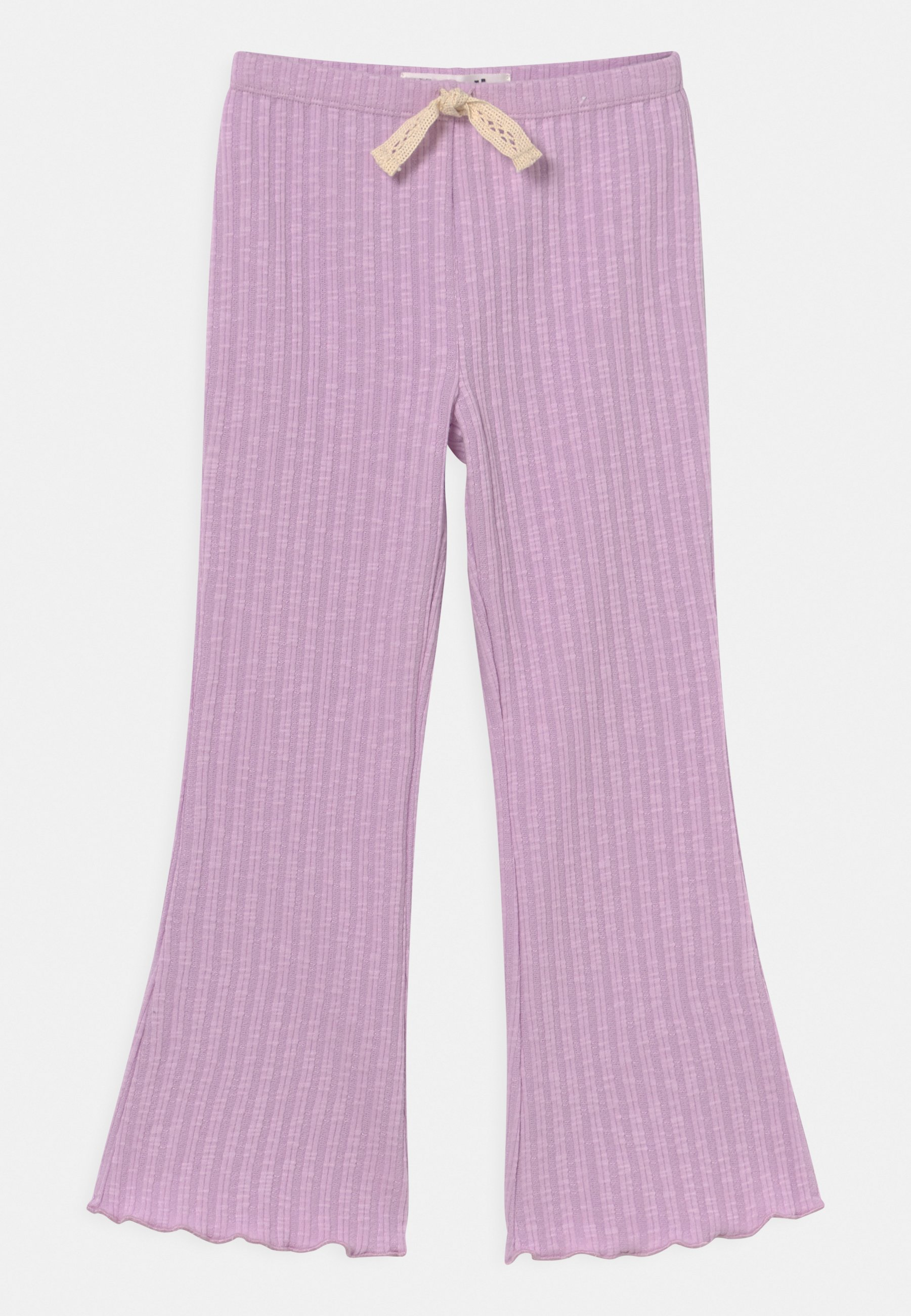 Kids FRANCINE FLARE - Trousers - pale violet