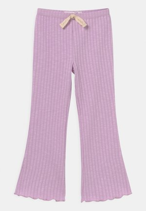 FRANCINE FLARE - Trousers - pale violet