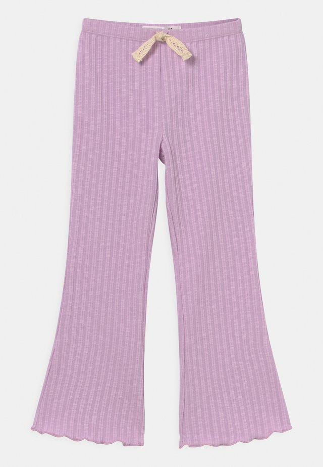 FRANCINE FLARE - Kalhoty - pale violet