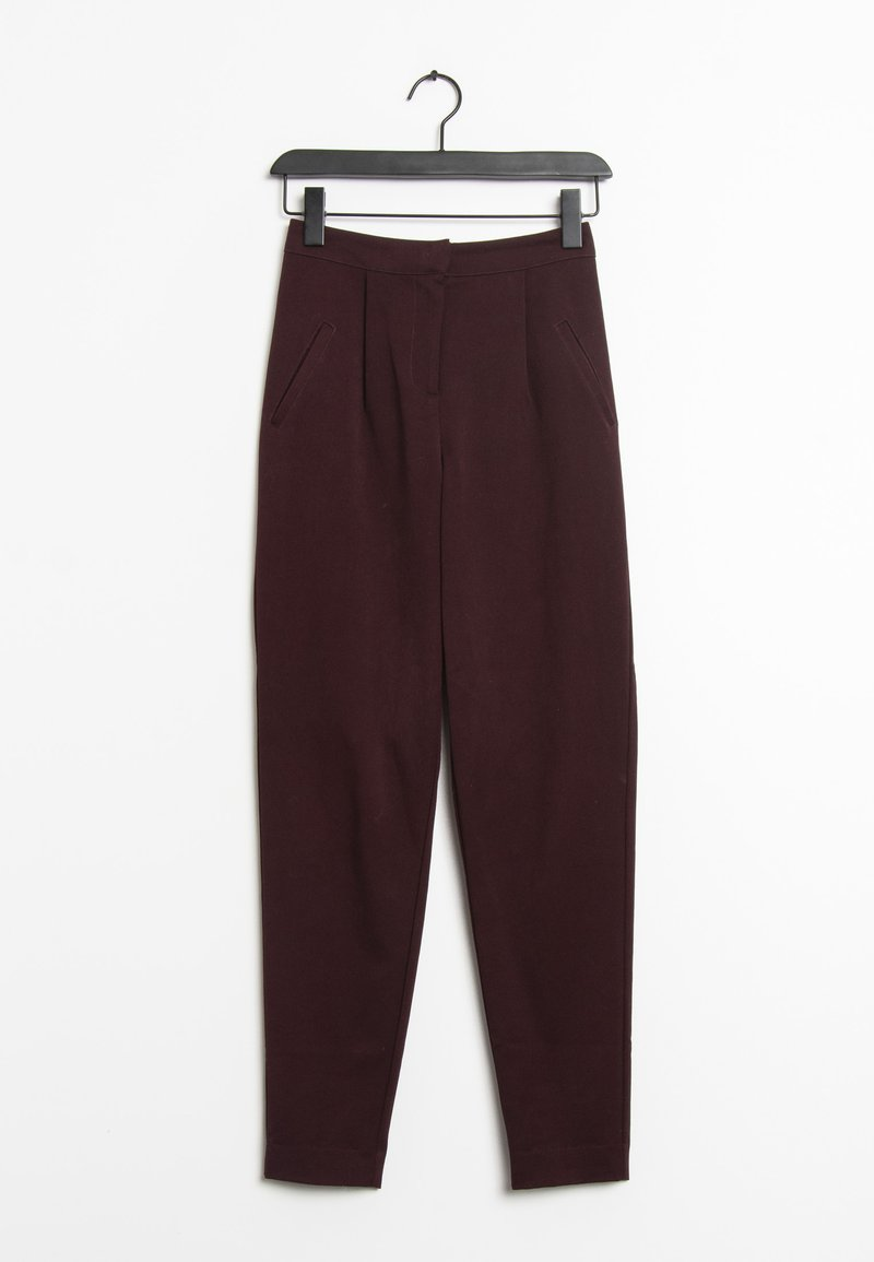 YAS - Trousers - red