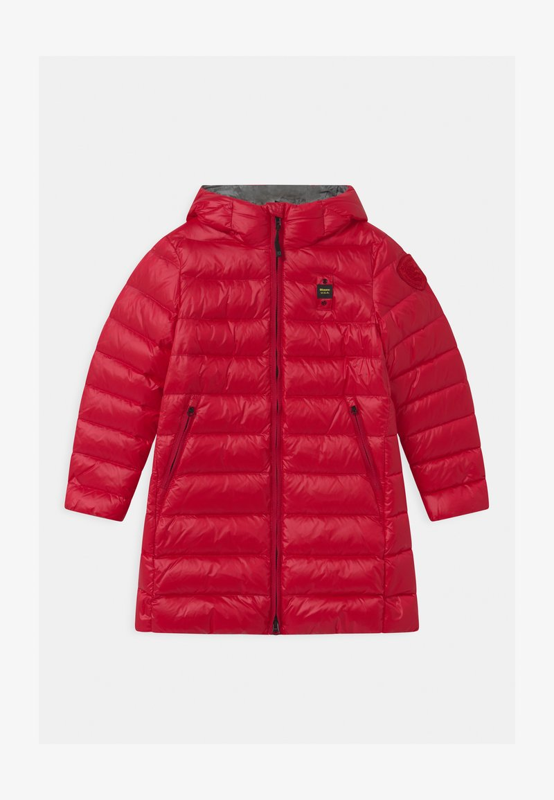 Blauer - IMPERMEABILE TRENCH LUNGHI - Down coat - red