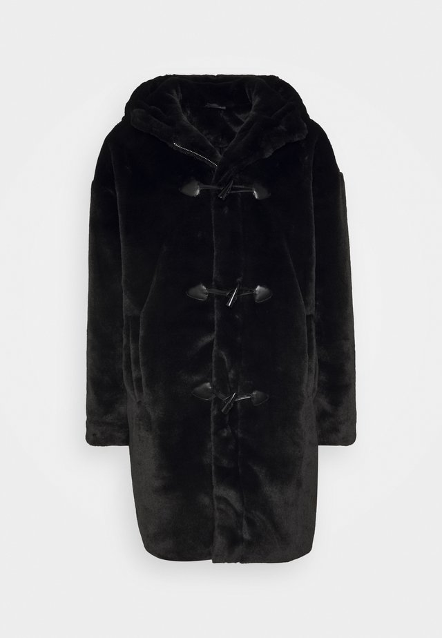 UNISEX DUFFLE COAT - Winter coat - black