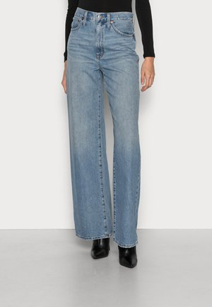 SUPER WIDE LEG FULL LENGTH RIGID - Široké džíny - eastchester