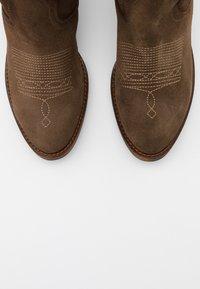 Kanna - Cowboy/Biker boots - cortina taupe - 5