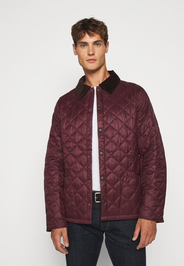 WINTER HERITAGE LIDDESDALE QUILT - Light jacket - aubergine