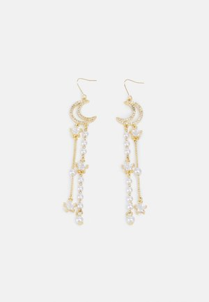 MOON STARS - Earrings - gold-coloured