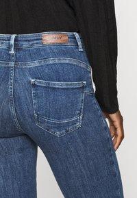 ONLY Tall - ONLPOWER LIFE PUSHUP - Jeans Skinny Fit - dark blue denim - 3