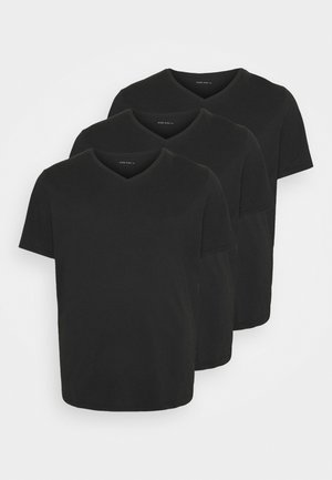 3 PACK - T-shirt basic - black