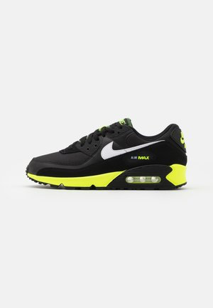 AIR MAX 90 - Sneakers - black/white/hot lime