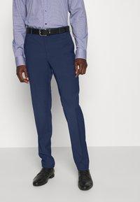 Tommy Hilfiger Tailored - FLEX SLIM FIT SUIT - Puku - blue - 4