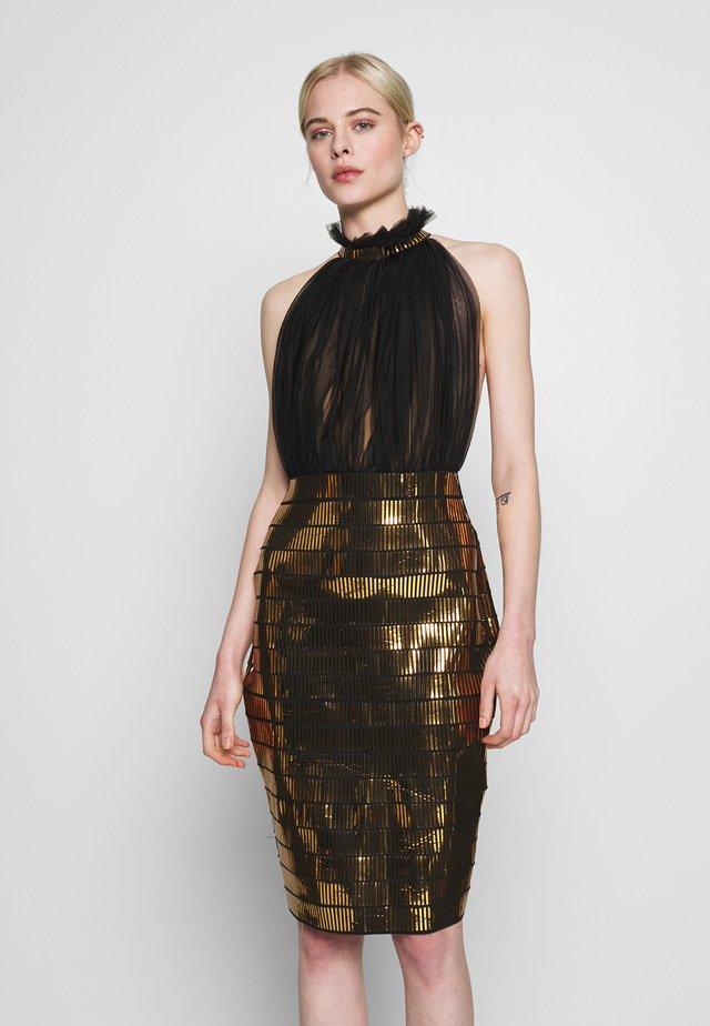 MICAH DRESS - Juhlamekko - gold