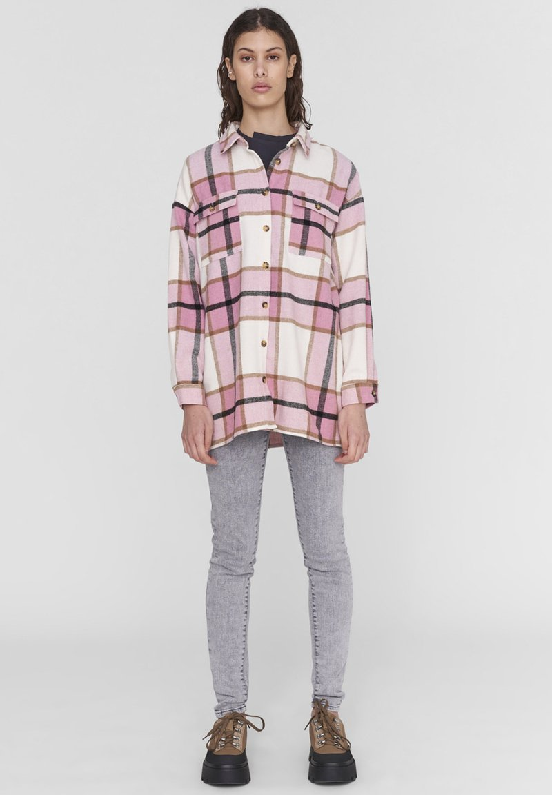 Noisy May - Button-down blouse - rose cloud