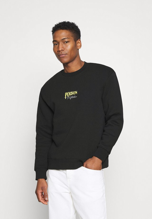 POISN - Collegepaita - black